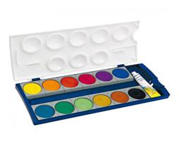 آبرنگ 12 رنگی پلیکان