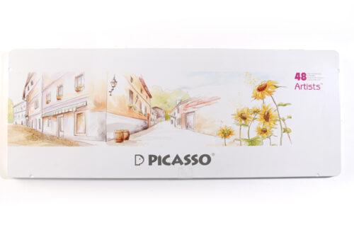مداد رنگی 48 رنگ جعبه فلزی پیکاسو ، آرتیست