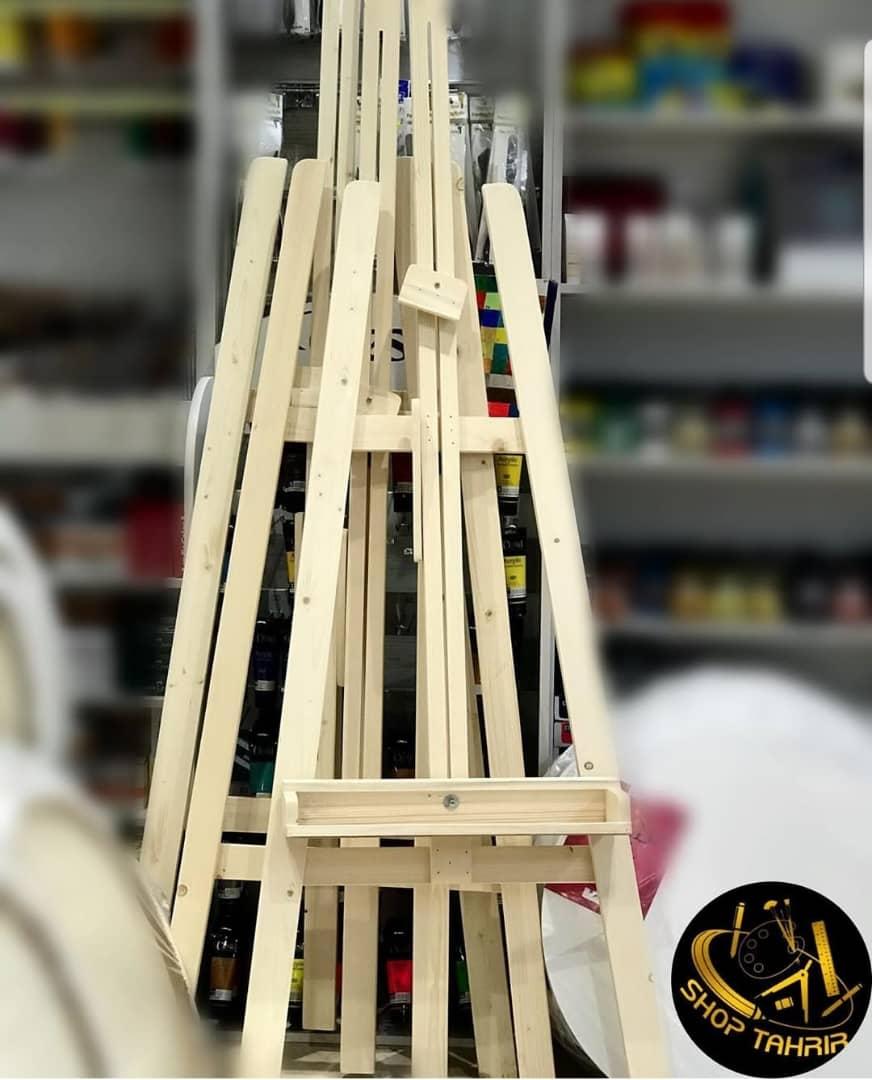 سه پایه چوبی