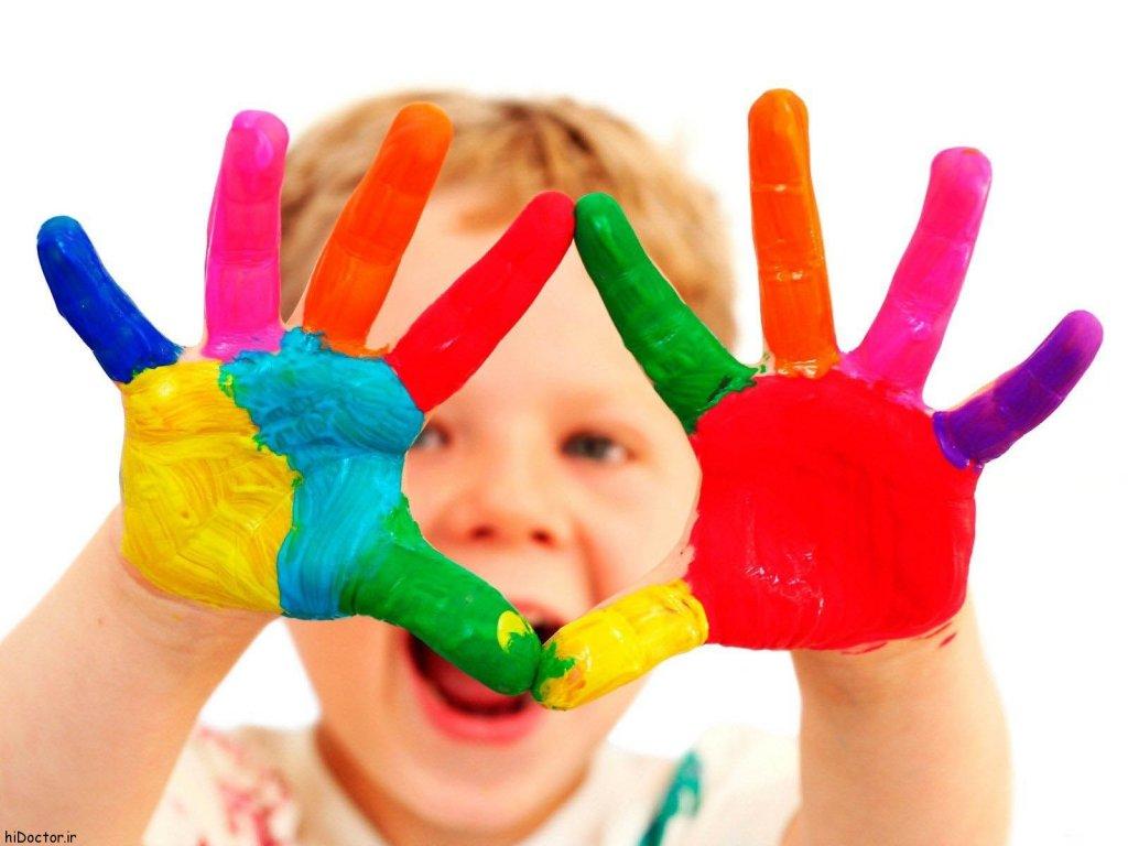 رنگها و کودکان