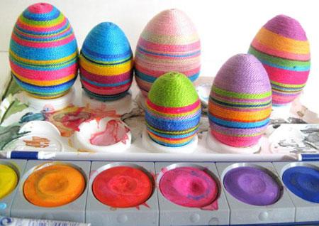 طرح تزئین تخم مرغ
