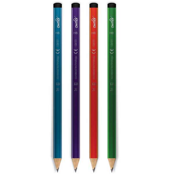 مداد مشکی اونر بدنه رنگی