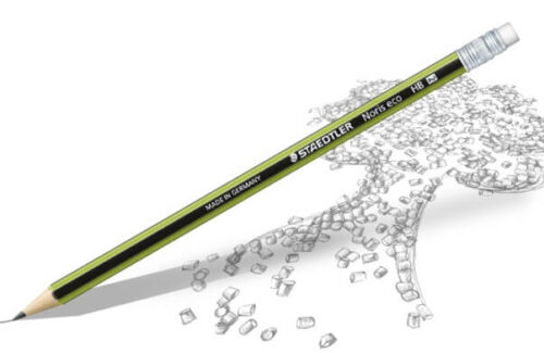 مداد مشکی eco پاکن دار استدلر 18230