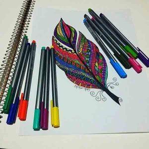 روان نویس تریپلاس استدلر 10 رنگ