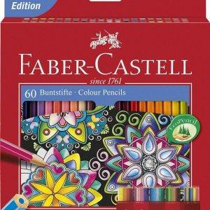 مداد رنگی 60 رنگ فابرکاستل