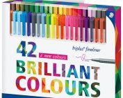 روان نویس نمدی استدلر 42 رنگ