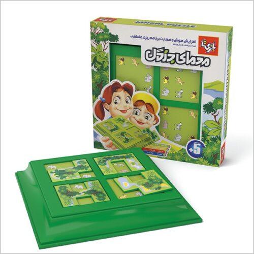 بازی فکری معمای جنگل