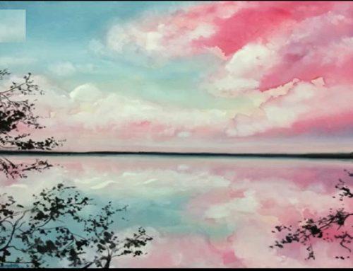 آموزش نقاشی با رنگ گواش