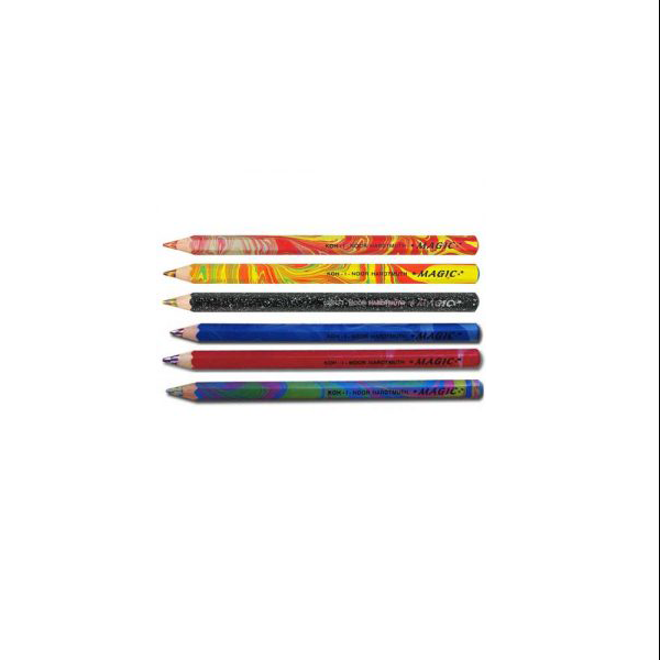 مداد ضخیم جادویی جامبو بدنه آبی
