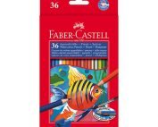 مداد آبرنگی 36 رنگ فابرکاستل