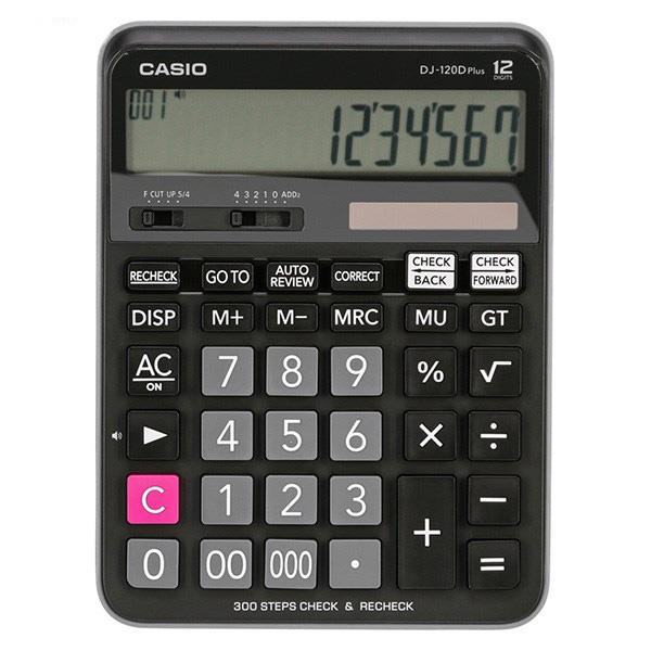 ماشین حساب CASIO،مدلDJ-120D