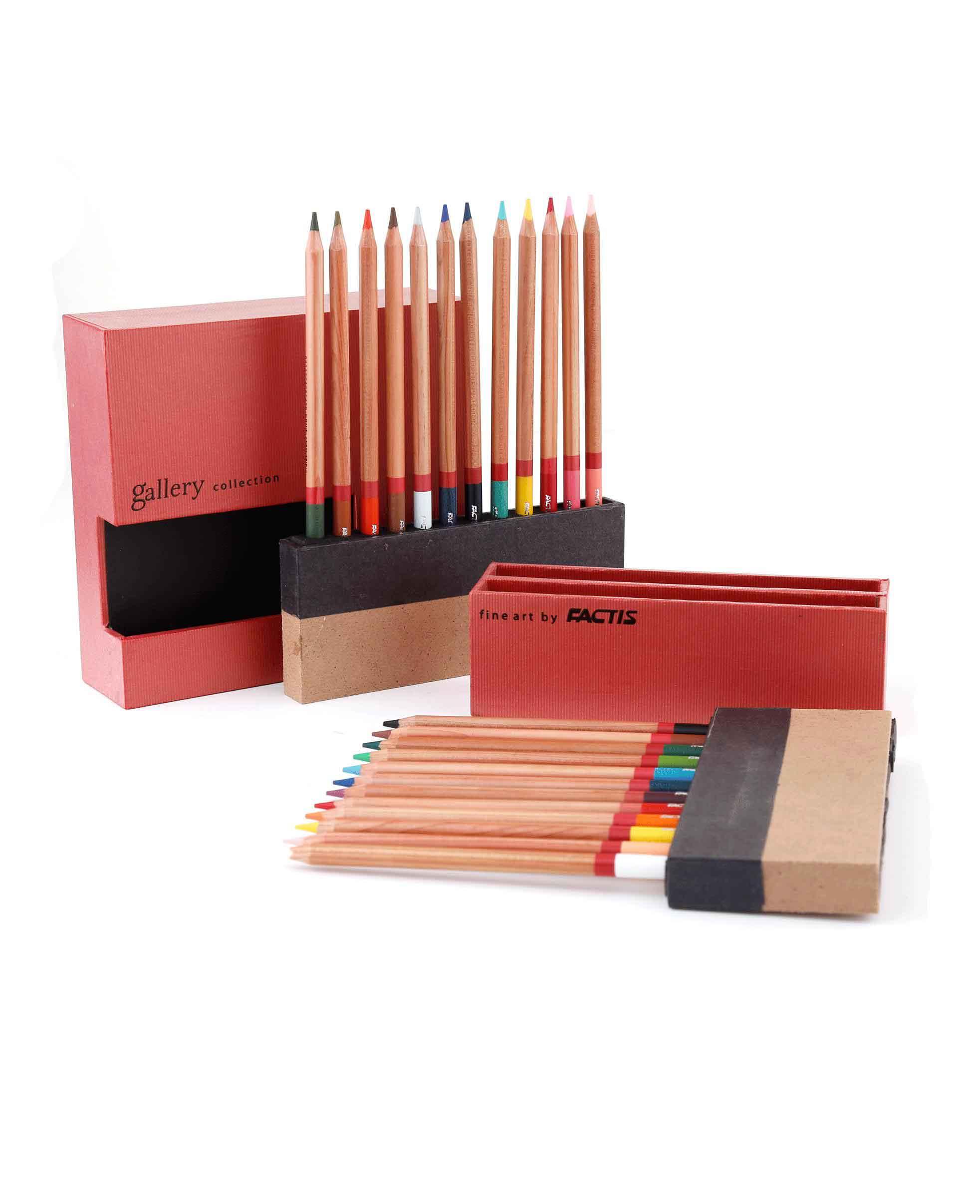 مداد رنگی factis