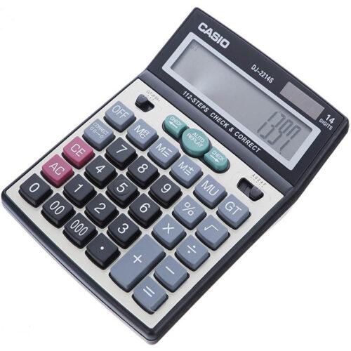 ماشین حساب کاسیو،مدل DJ-2214S