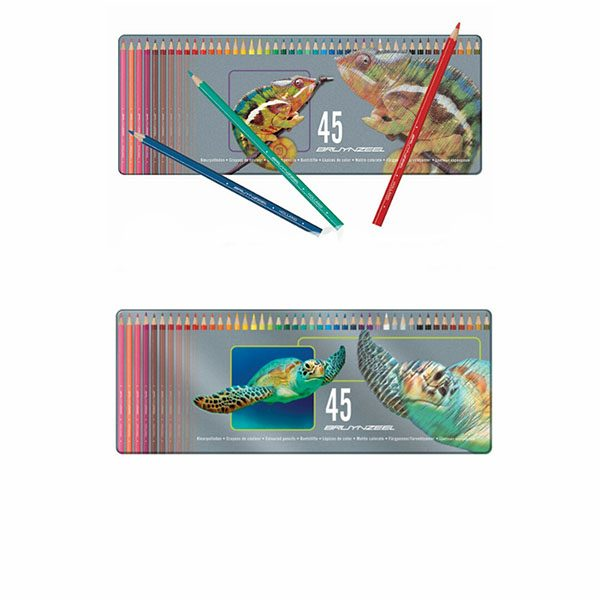 مداد رنگی برونزیل 45 زنگ