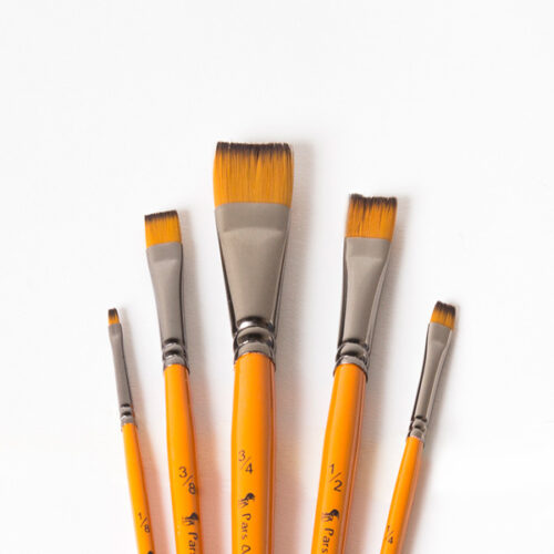 قلم مو تخت دسته کوتاه پارس آرتیست