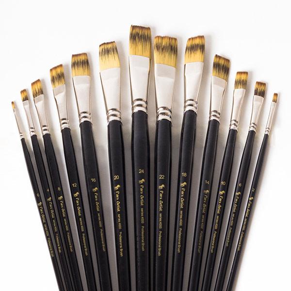 قلم مو تخت دسته بلند(Gold) پارس آرتیست