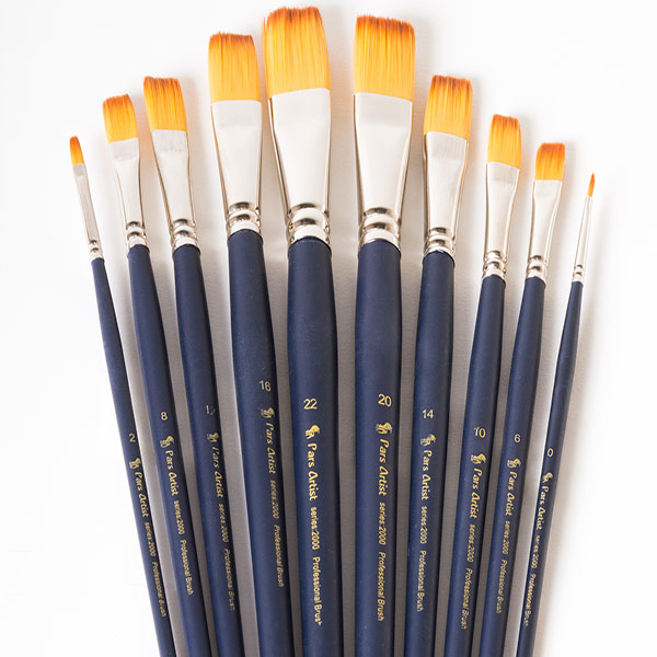 قلم مو تخت دست بلند پارس آرتیست