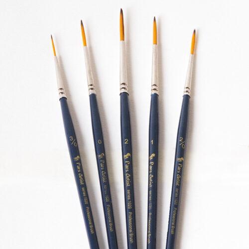قلم مو گرد مو بلند آرتیست