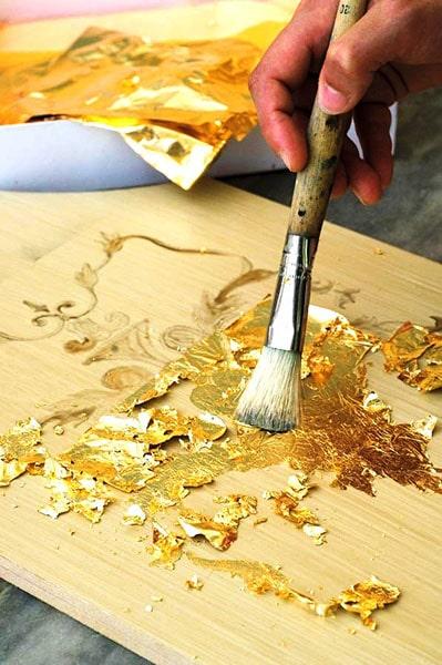 ورق طلا بسته 100 عددی