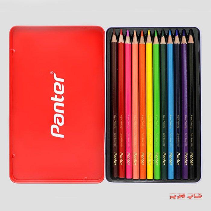 مداد رنگی پنتر فلزی