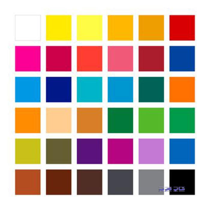 رنگهای مداد رنگی استدلر