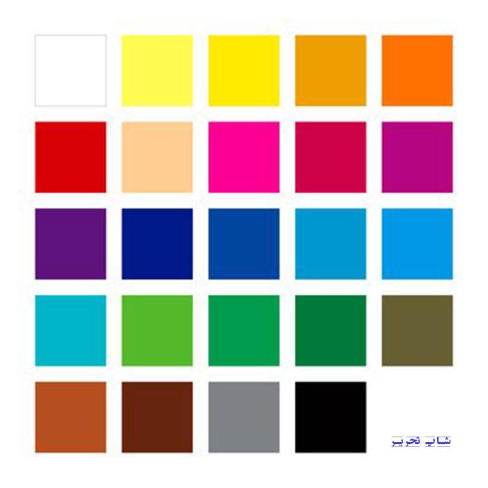 کد رنگ استدلر